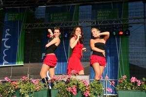 Leticia auf der Bühne